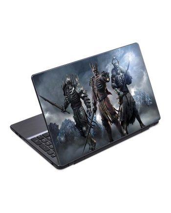 jual skin laptop armor helmet sword