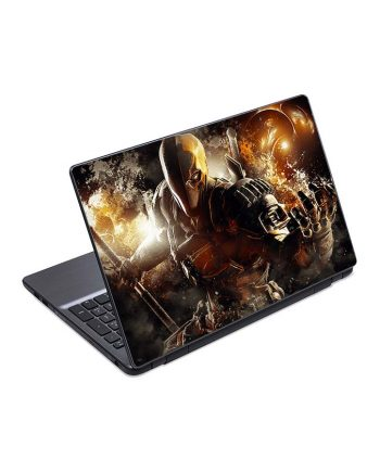jual skin laptop batman arkham deathstroke