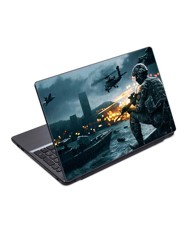 jual skin laptop battlefield 4 war