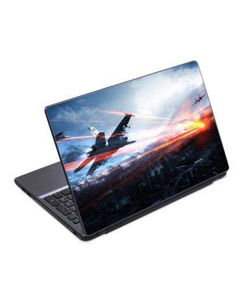 jual skin laptop battlefield airplanes sky