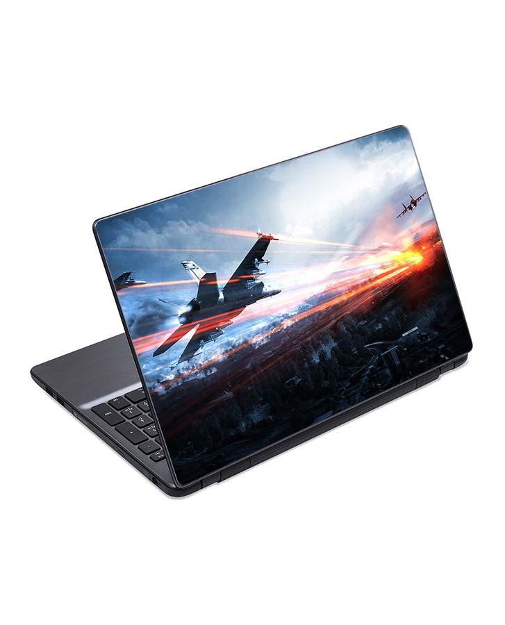 jual skin laptop battlefield airplanes sky