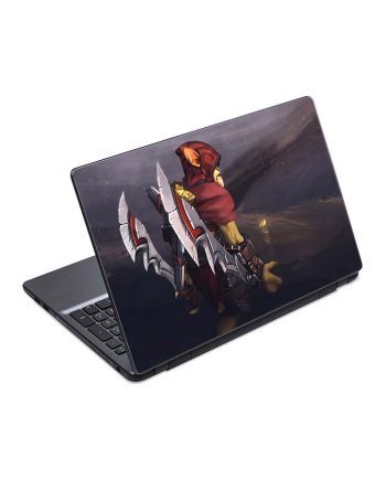 jual skin laptop bounty hunter