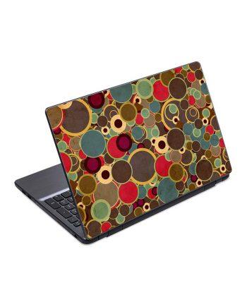 jual skin laptop circles background surface