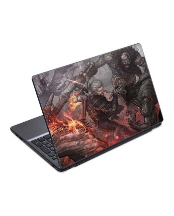 jual skin laptop geralt patrick brown