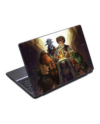 jual skin laptop hearthstone heroes