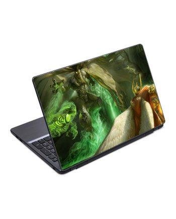 jual skin laptop magic creatures battle