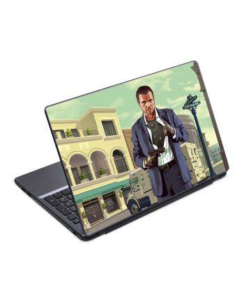 jual skin laptop michael de santa gta
