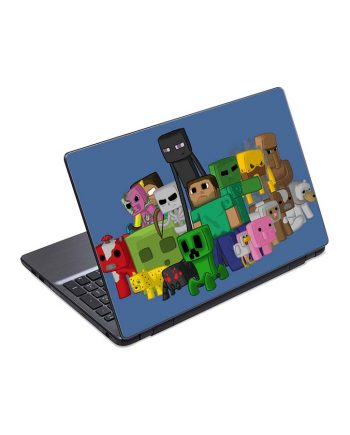 jual skin laptop minecraft characters