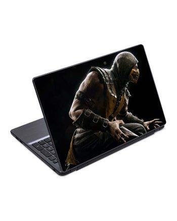 jual skin laptop mortal kombat scorpio ninja