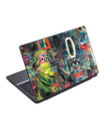 jual skin laptop psychedelic abstraction