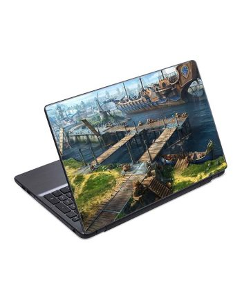jual skin laptop ship berth