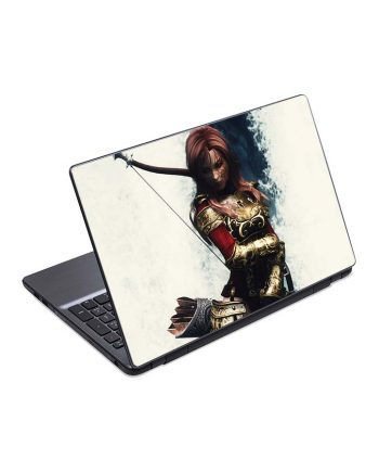 jual skin laptop skyrim armor bow girl