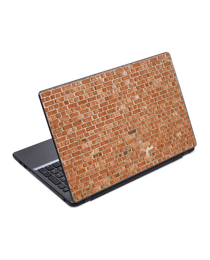 jual skin laptop texture brick wall