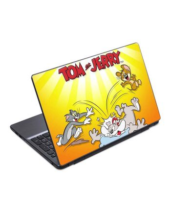 jual skin laptop tom and jerry cartoon