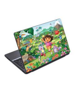 Skin-Laptop-Dora