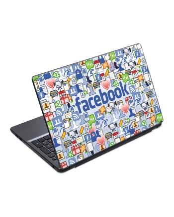 Jual Skin Laptop Facebook
